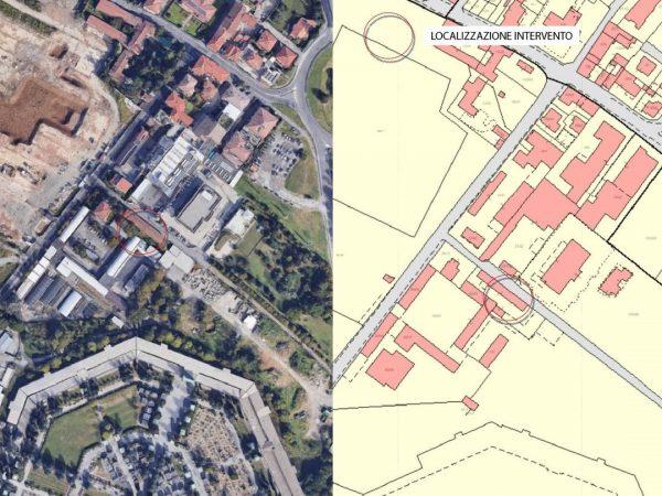 Il contesto urbano di Cascina Serassi dove avrà sede l'Hub for Kids